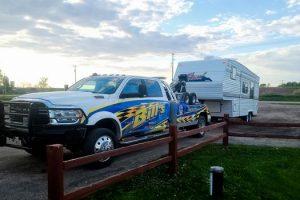 Tractor Trailer Towing in Prairie du Sac Wisconsin